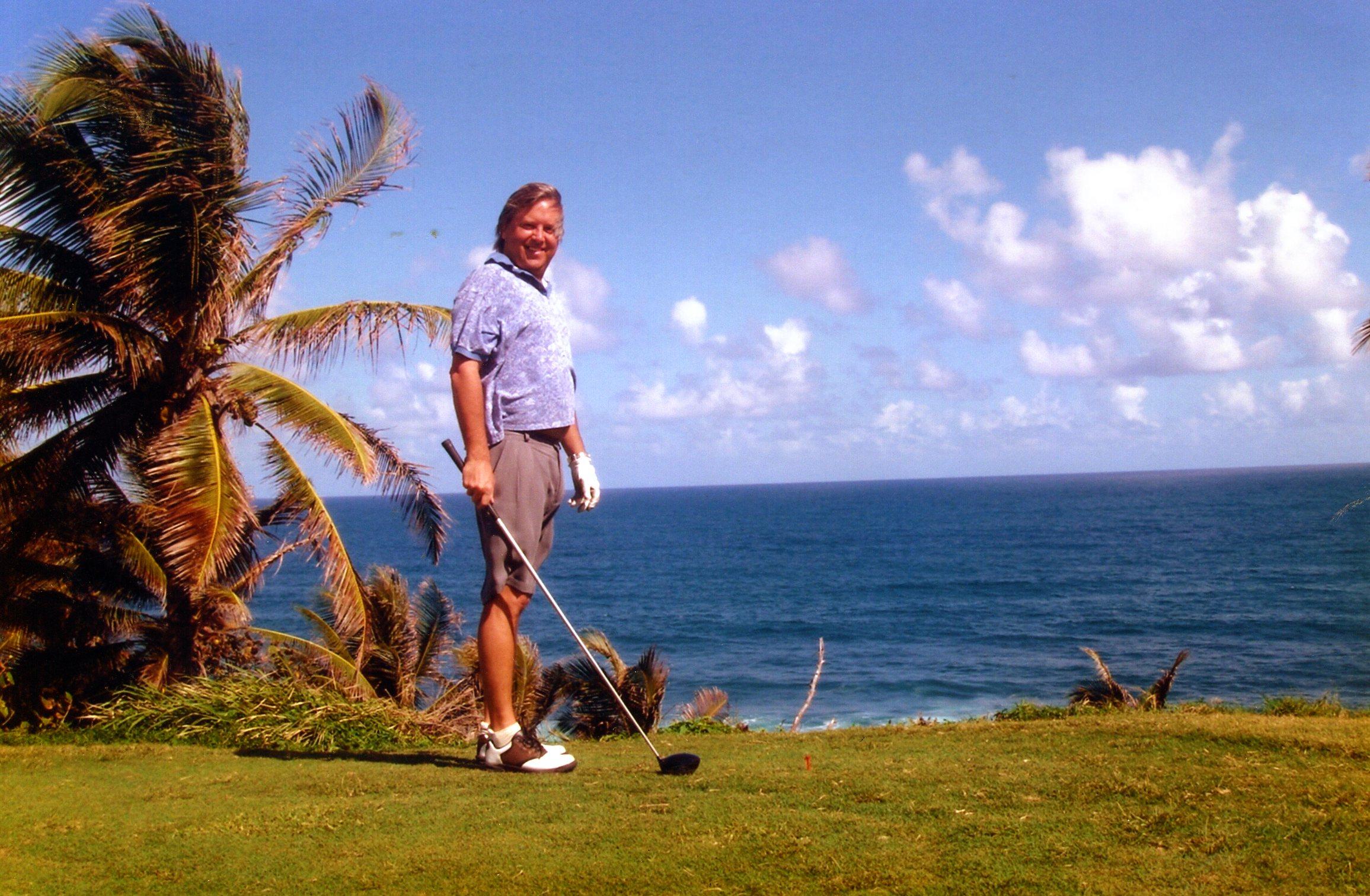 Chi Chi Rodriguez Kevin Kolenda Puerto Rico Golf